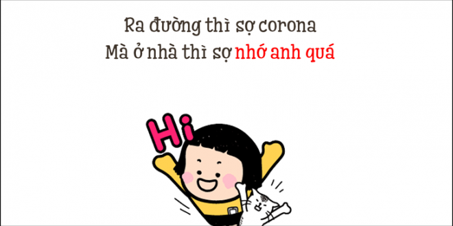 cau noi status caption tha thinh mua corona 2